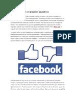 Uso de Facebook en Procesos Educativos