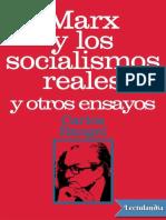 Rangel, Carlos - Marx y los socialismos reales.pdf