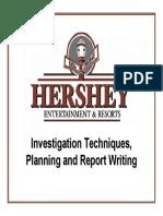 Investigation Techniques,