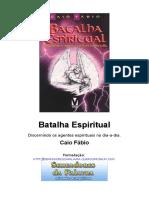Batalha Espiritual - Livro - Caio Fábio