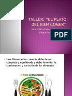 Taller El Plato Del Bien Comer