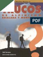 04.- Trucos de Alpinismo, Escalada y Montañismo - Desnivel (1996)