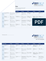 Asics Trainingplans Sub 3.00