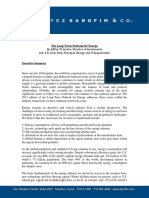 Sarofim Energy White Paper 2012