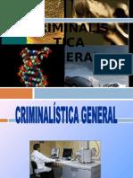 Criminalistica General