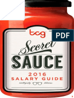 The Creative Group 2016 Salary Guide