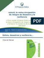 B3 Reducción Riesgo de Desastre Resiliencia Diapositivas