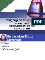 Pengorganisasian Bahan-Bahan Kimia