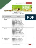 Jadwal Pelatihan Spa 2016