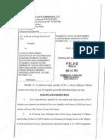JP v NJ Department of Cildren and Families (DYFS) Complaint