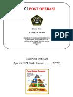 Flipchart Gizi Post Operasi