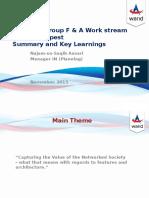 BSS User Group F&a Workstream 2015