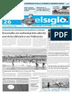 Edición Impresa Elsiglo 26-12-2015