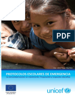 PROTOCOLO DE EMERGENCIA ESCOLAR