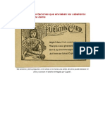 Las Invitaciones Que Enviaban Los Caballeros Del Siglo 19 a Una Dama
