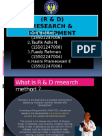 The Steps and Models of Research & Development Method. (English Version)