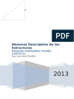 Memoria Descriptiva de Estructuras