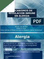 Mecanismo de Regulacion Inmune en Alergias