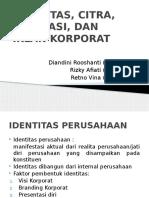 PPT identitas, citra, reputasi korporat