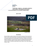 Compendium of scientific, medical & media findings demostrating risks & harms of fracking