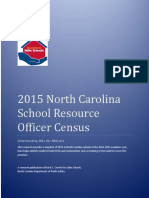 2015 North Carolina  School Resource  Officer Census