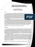 Delineasi Daerah Prospek Panas Bumiberdasarkananalisis Kelurusan Citralandsatdi Candi Umbul - Telomoyo, Provinsi Jawatengah