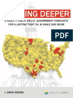 Drilling deeper, a reality check on US gov forecasts of fracking boom