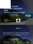 Biogas Plant Designs and Engery Calculations
