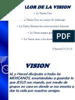 El Valor de La Vision
