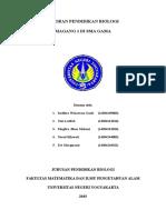 laporan observasi Pendidikan Biologi