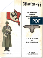 D.S.v. Fosten D.S.v., Marrion R.J., Waffen-SS Its Uniforms, Insignia and Equipment 1938-1945