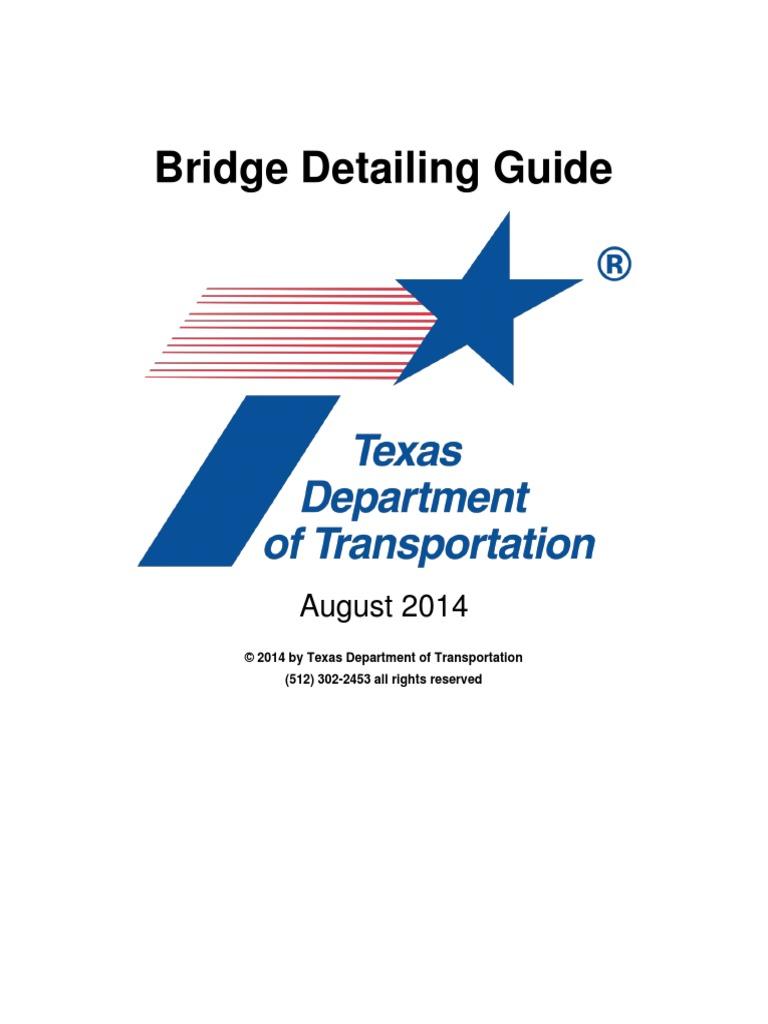 Bridge Detailing Guide Texas Department Of Transportpdf 96 Crownline Wiring Diagram Structural Steel Specification Technical Standard