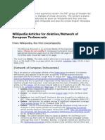 Network of European Technocrats N E T   Techno