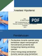 Anestesi Hipotensi