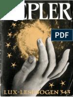 [Wehner Josef Magnus] Kepler