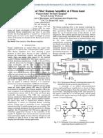 Gain Analysis of Fiber Raman Amplifier at 870nm band.