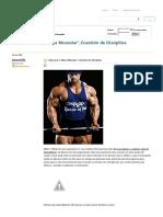 Gimnasio y Masa Muscular_,Cuestión de Disciplina