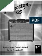 Princeton 65 Manual