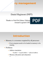 Operating Systems lecture - Memory Management