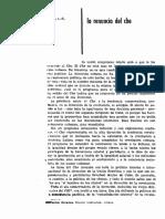 Adolfo Gilly, 'La Renuncia Del Che', Arauco, Año VI, No. 69, Octubre 1965, Pp. 2-9.