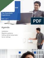 Windows Server 2012 R2 Essentials - Module 3 - Install - Migrate - Part2