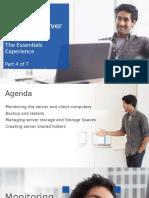 Windows Server 2012 R2 Essentials - Module 4 - Manage - Monitor