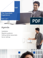 Windows Server 2012 R2 Essentials - Module 3 - Install - Migrate
