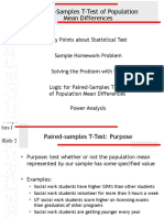 Homework Problems - Paired Samples T-Test.ppt