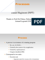 Operating Systems lecture - Process Management