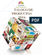 Catalogo 2014 - Clean Distribuidora