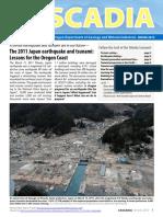 Tsunami study 2012 cascadia