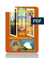 SPIRITUAL QUEST WITH AN OPEN HEART AND MIND