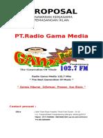 Proposal Iklan New 2015 Radio Gama
