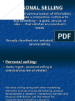 Personal Selling (Extra Reading-3)
